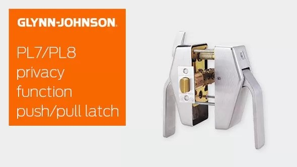 PL7/PL8 Privacy Function Push/Pull Latch