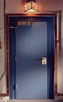 Blast Resistant Steel Doors