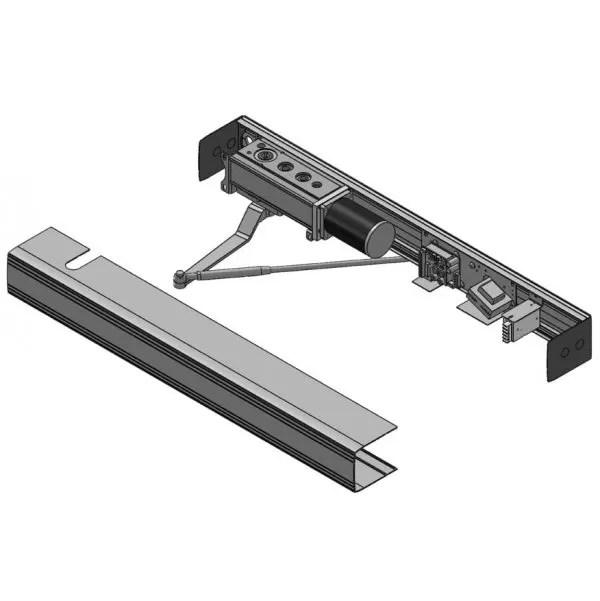 Ditec HA8-LP (Low-Energy, Low-Profile Swing Operator)