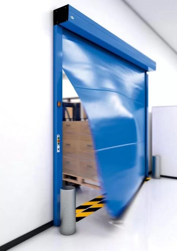 record SPEEDCORD High Speed Rollup Door