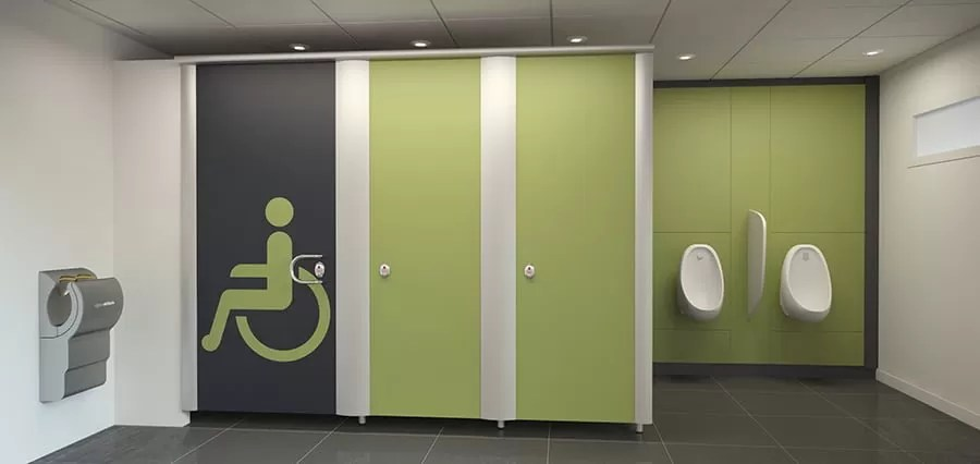 washroom automatic doors