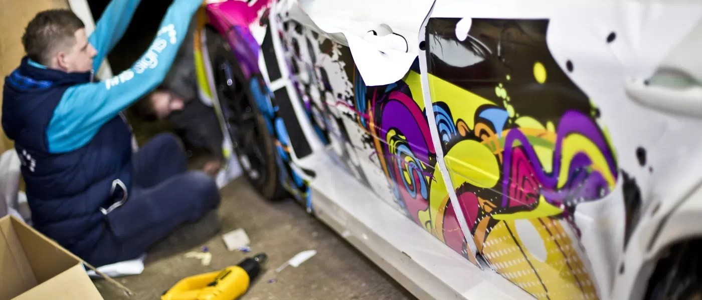 Vehicle graphics that stand out from competition
