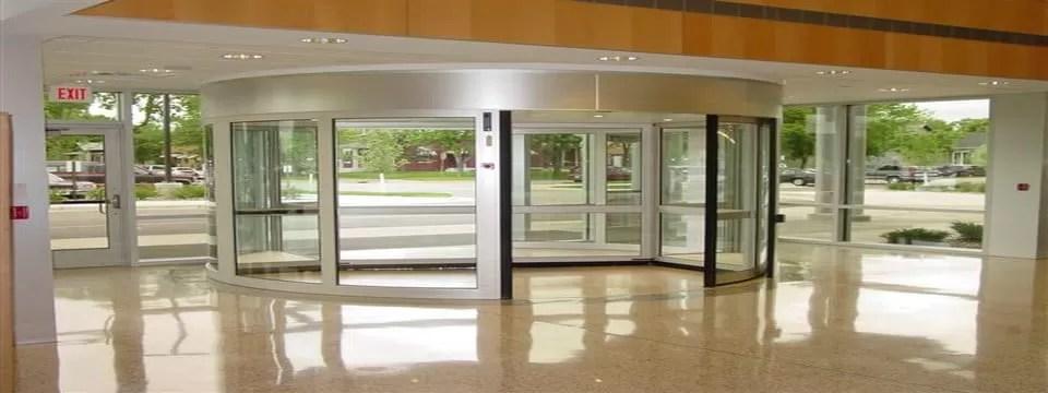 Glass Revolving Door