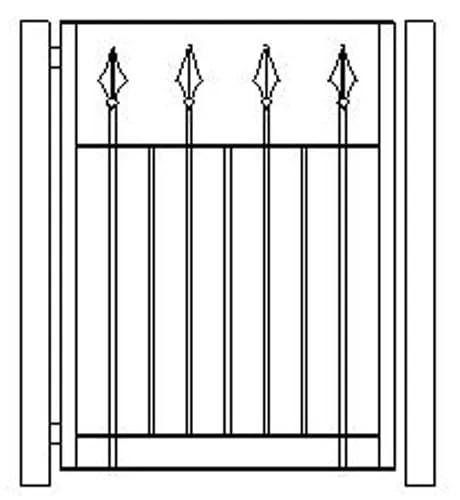 pedestrian gates icgg16 1200