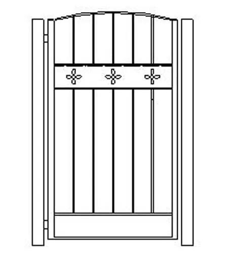 pedestrian gates icgg19 1500