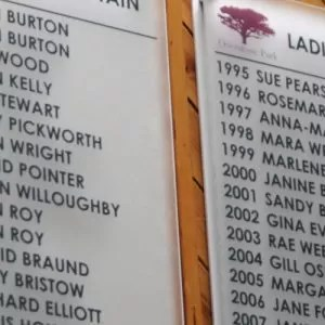 Honours boards