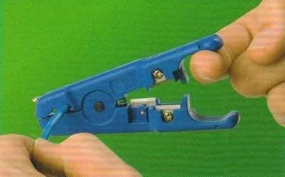 Cut Cat-5 Cable