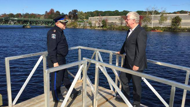 Bridgewater riverside park adds security camera - BBG Security