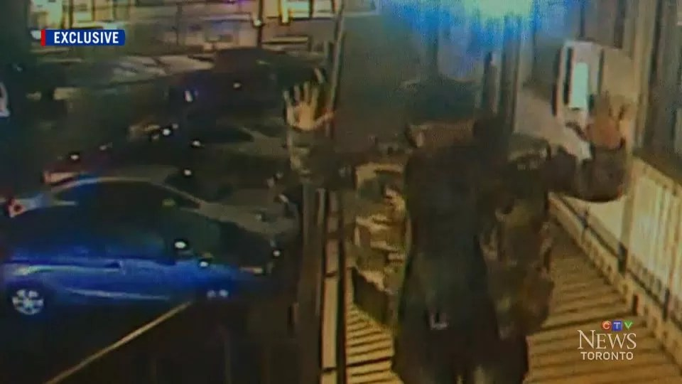 Security cameras capture footage of shooting at Niagara Falls motel