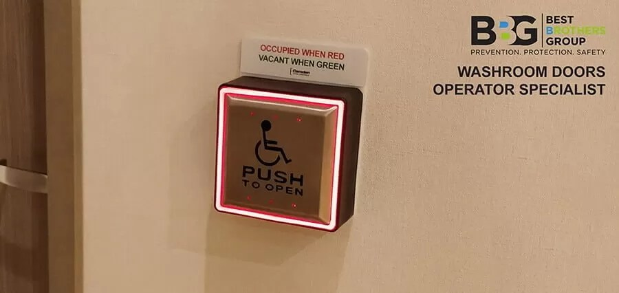 Automatic Doors Push Button