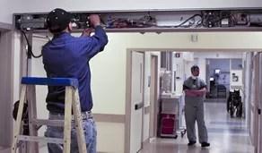 hospital automated door miami fl