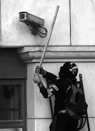 damage CCTV