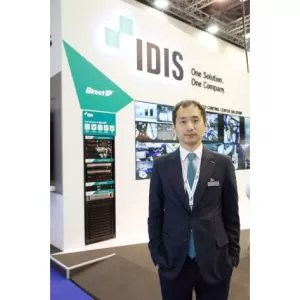 Dennis Choi from IDIS highlights the manufacturer's presence at Security Essen