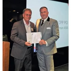 PerpetuityARC Training's Paul Barker made life member of ASIS International and life CPP