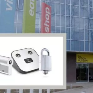 CLIQ access control and mechanical locks installed London's Design Museum