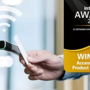 Aperio H100 wireless handle wins Intersec Award