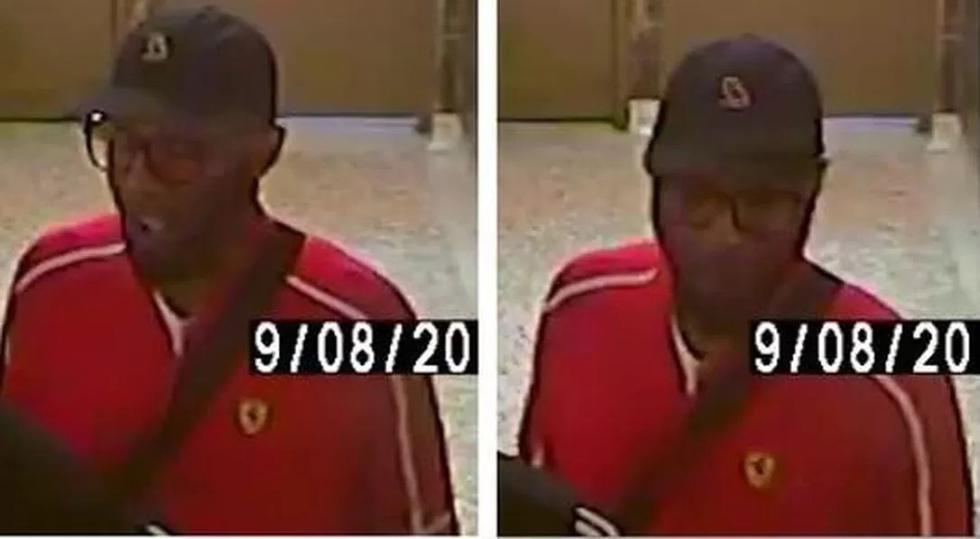 Photos of the third suspect show a male between the ages of 20 and 30.