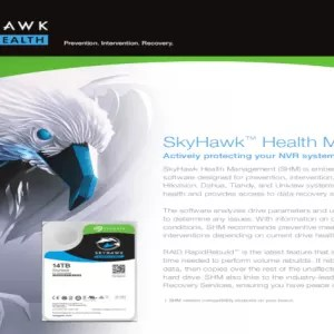 Seagate launches popular new feature with SkyHawk Health Management