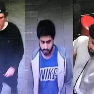 Police release photos of suspects after man brutally beaten outside downtown Toronto pub