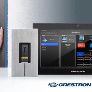 Crestron partners with ekey to deliver fingerprint door entry to Crestron smart homes