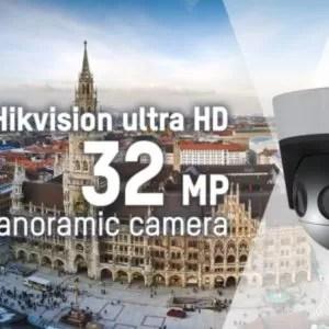 Hikvision launches ultra HD 32 MP PanoVu panoramic camera