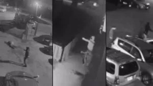 Police release security camera video of three separate shootings