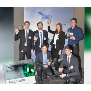 """HENSOLDT awards """"Argus"""" prize to students"""