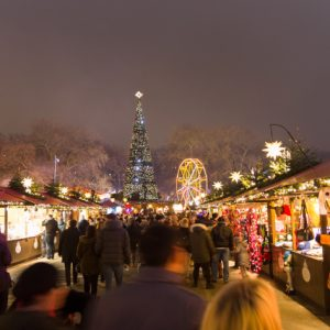 Hyde Park Winter Wonderland protected by barrier solution