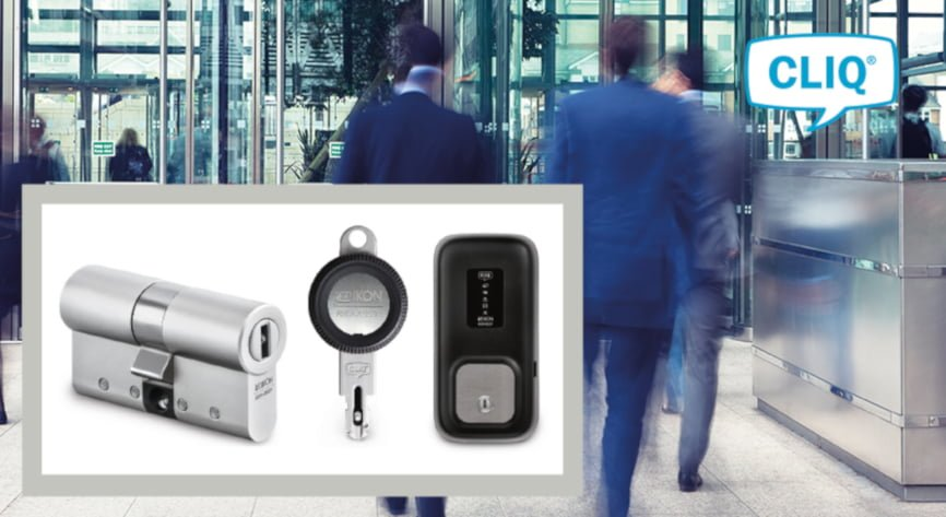 A CLIQ electronic locking system puts an Italian bank in complete control of every entrance
