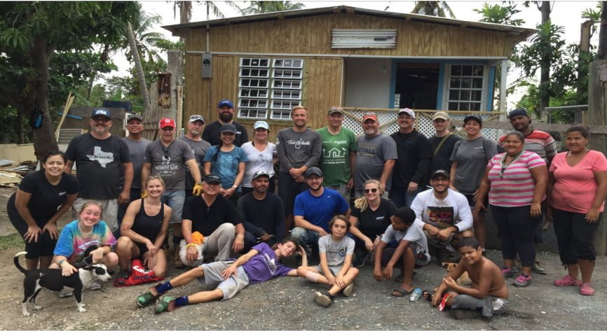 Mission 500 service trip to Ponce, Puerto Rico brings assistance to families in need