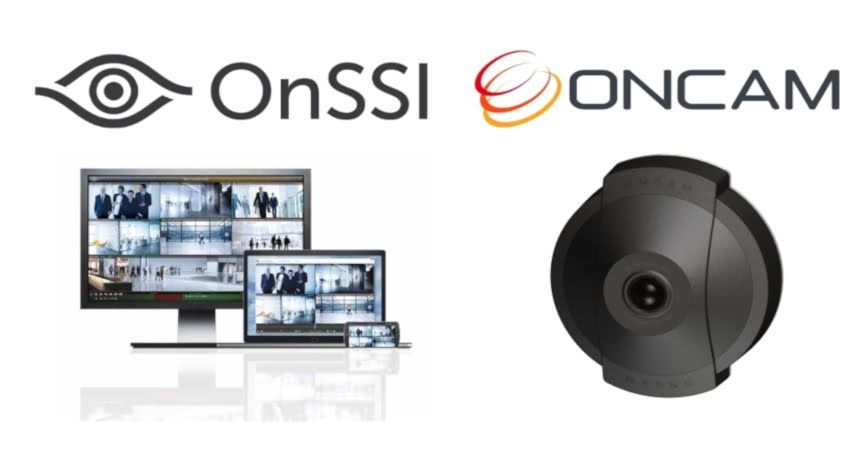 OnSSI Ocularis VMS integrates with Oncam Evolution 12 and Evolution 180 Panoramic Cameras