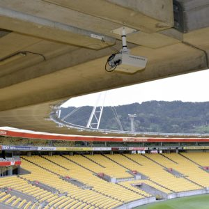 Westpac Stadium takes the big view on stands and field with Panomera multifocal sensor systems