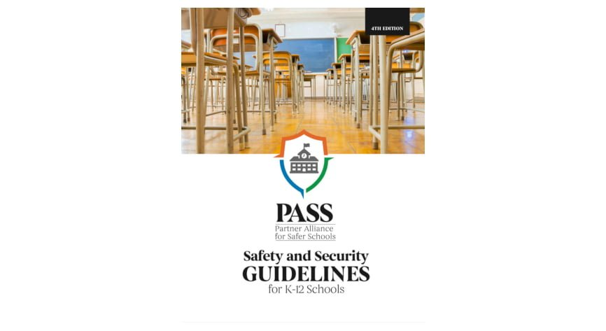 Fourth-Edition guidelines expanded to address growing security challenges facing today's schools