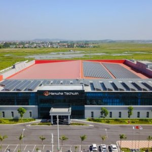 Hanwha Techwin cuts the ribbon at new manufacturing facility in Vietnam
