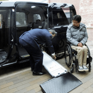 Toyota Improves Universal Design Taxicab for Quicker Wheelchair Access