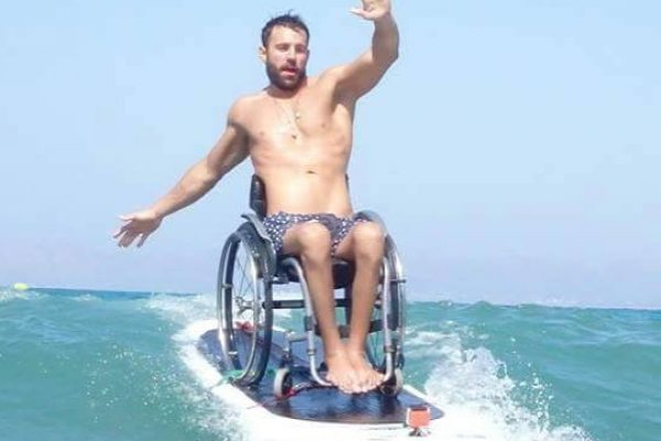 Yoocan community member Antonis Tsapatakis is a Paralympic swimmer training for Tokyo 2020