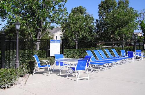 aluminum sling patio furniture