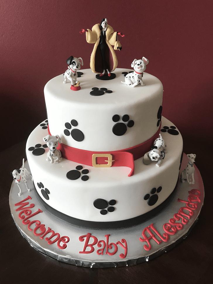 Admirable 101 Dalmatians Cake Design