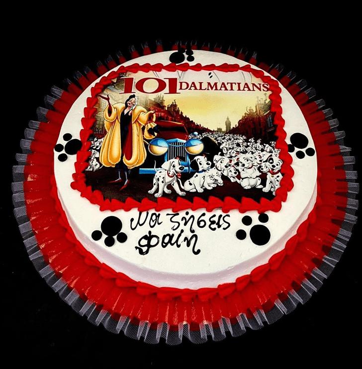 Bewitching 101 Dalmatians Cake