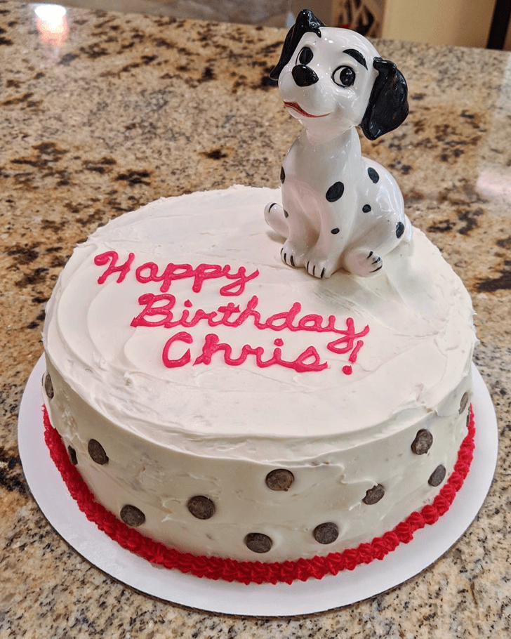 Charming 101 Dalmatians Cake