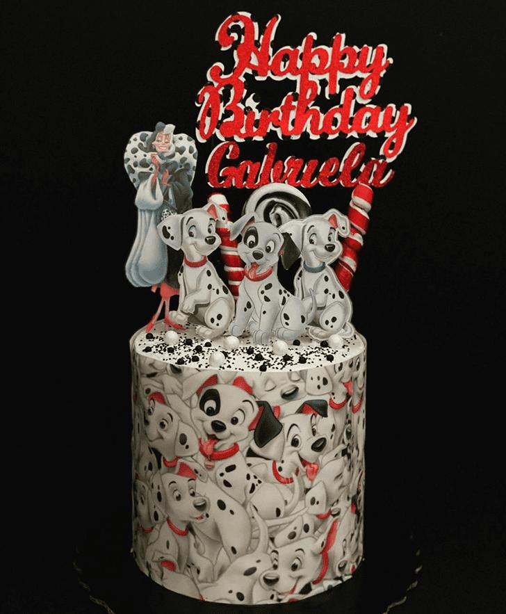 Classy 101 Dalmatians Cake