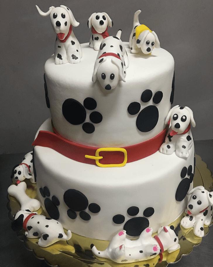 Cute 101 Dalmatians Cake