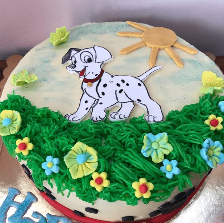 Delicate 101 Dalmatians Cake