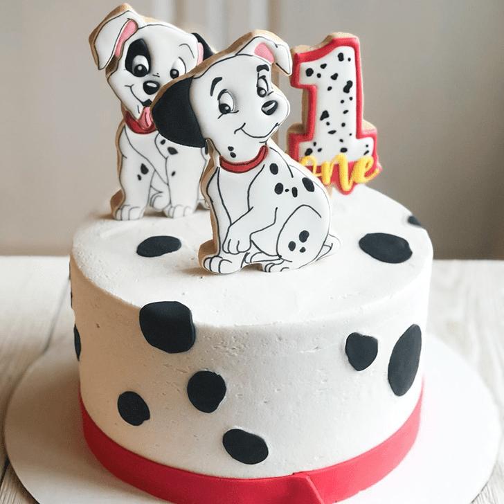 Elegant 101 Dalmatians Cake