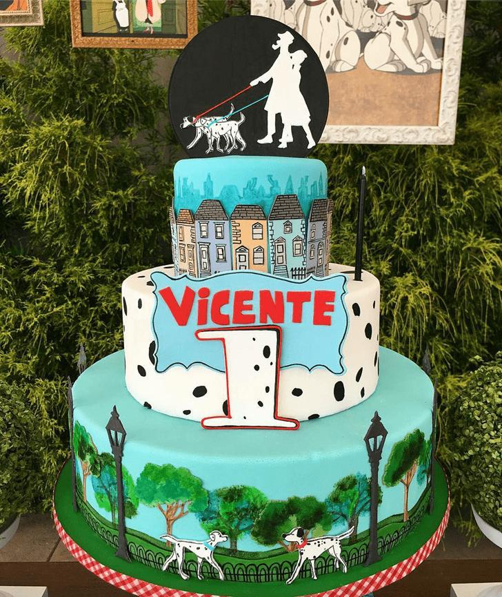 Enticing 101 Dalmatians Cake