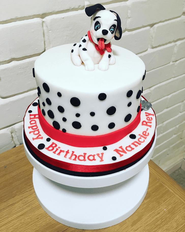 Exquisite 101 Dalmatians Cake
