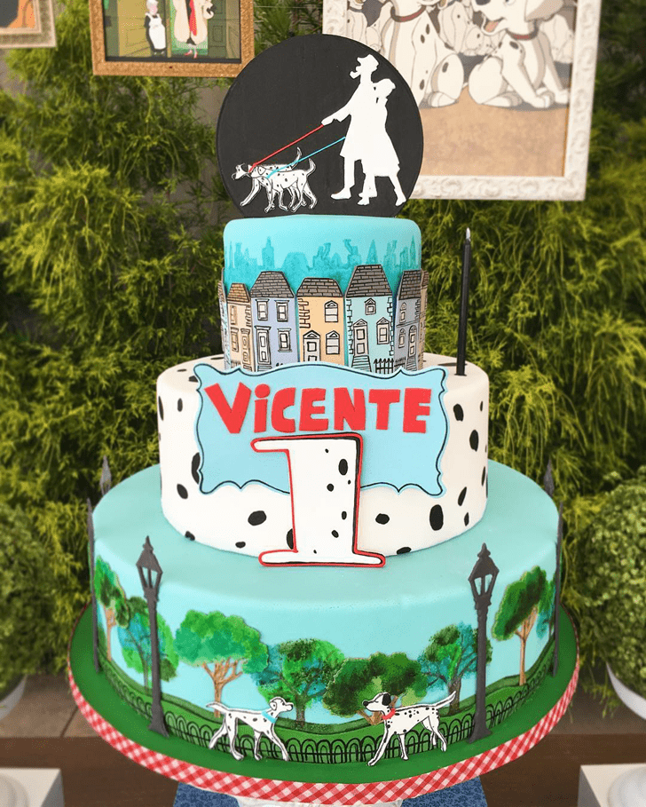 Fine 101 Dalmatians Cake