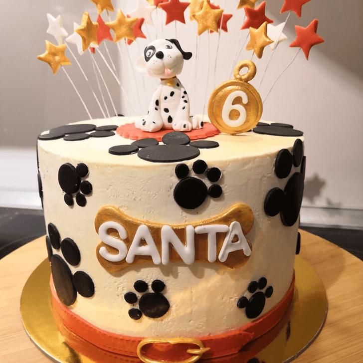 Graceful 101 Dalmatians Cake