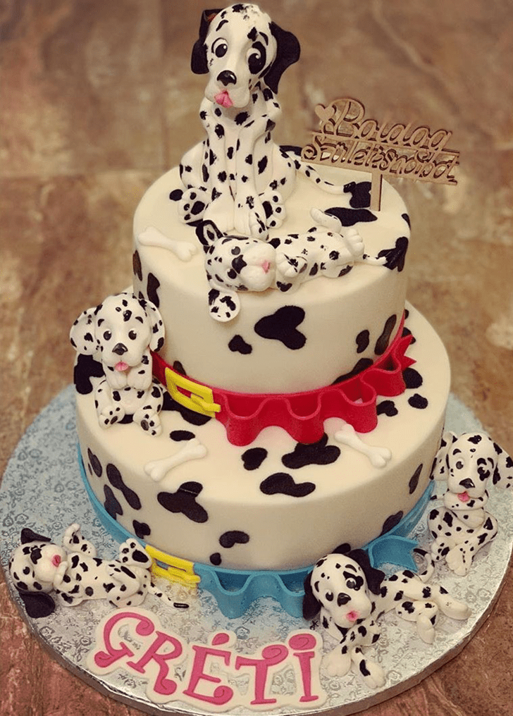 Refined 101 Dalmatians Cake