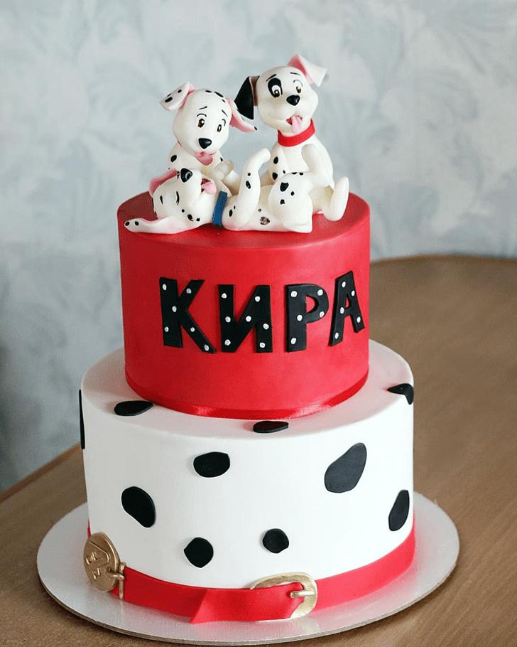 Resplendent 101 Dalmatians Cake